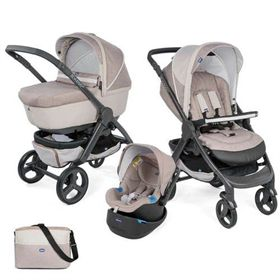 טריו סטייל גו אפ - Trio Style Go Up Chicco-שמנת ktanton